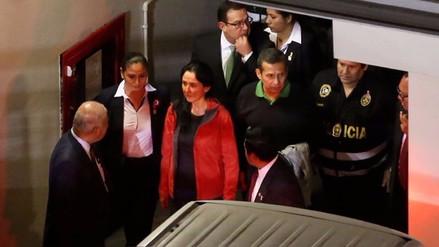 Admiten a trámite habeas corpus para excarcelar a Ollanta y Nadine