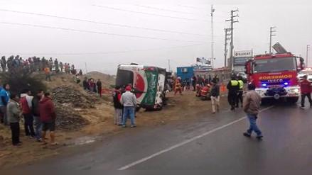 Trágico accidente en la carretera Panamericana Norte en Trujillo