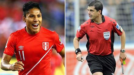 Raúl Ruidíaz se reencontrará con el árbitro que validó el gol con la mano
