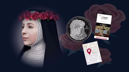Infografía   Santa Rosa de Lima presente en la cultura peruana
