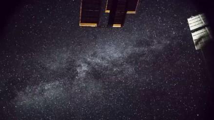 Así se ve la Vía Láctea desde la Estación Espacial Internacional