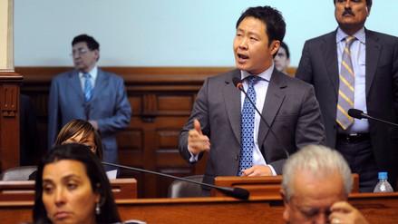 Kenji Fujimori pide que se respeten las sentencias del Tribunal Constitucional