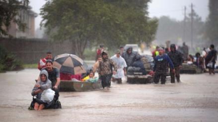 No hay víctimas peruanas afectadas por el huracán Harvey en EE.UU.