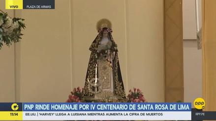 El papa destacó a Santa Rosa y su sacrificio al servicio de Dios