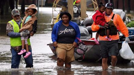 'Harvey' llega a Luisiana mientras aumenta la cifra de muertos