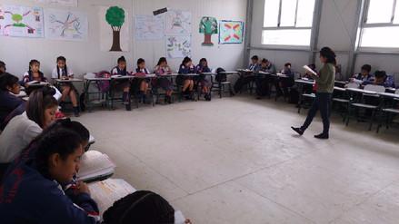 Colegios recuperan clases en feriado por Santa Rosa de Lima