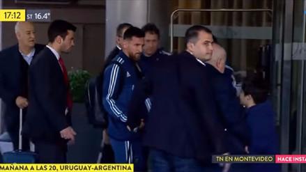 ¡Noble gesto! Así se comportó Lionel Messi con un niño uruguayo