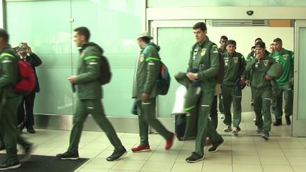 Así fue la llegada de Bolivia a Lima para el duelo ante la Selección Peruana