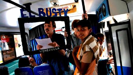 Bus TV, el medio que elude la censura en el transporte público de Venezuela