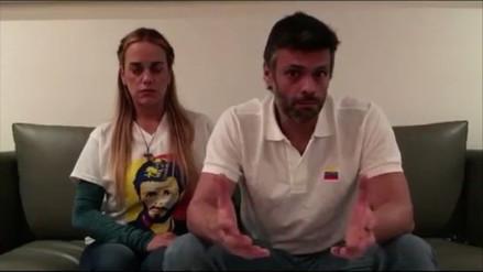 Leopoldo López llama a la oposición a presentarse a las elecciones regionales