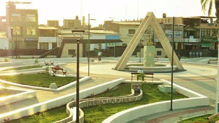 Plaza de Armas de Túcume fue remodelada tras el 'Niño Costero'