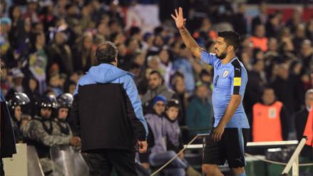 Luis Suárez aclara que se retiró del campo con un calambre