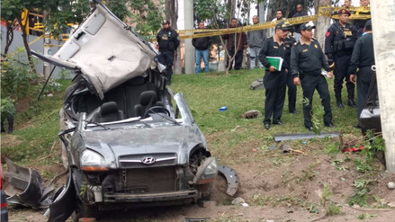 Accidente en la Vía Expresa: se confirma que Carolina Quintana sigue viva