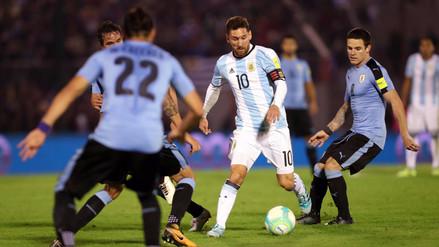 Argentina robó un punto de visita contra Uruguay en Montevideo