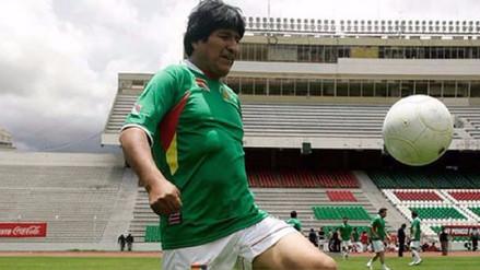 El presidente Evo Morales verá el Perú - Bolivia en el Estadio Monumental