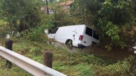 Una familia hispana murió atrapada en camioneta cuando huían de Harvey