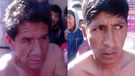 Dos hombres acusados de robo se salvaron de ser linchados