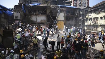Al menos ocho muertos por el derrumbe de un edificio en Bombay