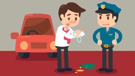 ¿Cuáles son las penas para quien maneja ebrio y causa un accidente?