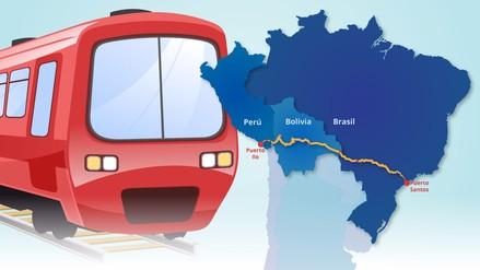 Infografía | ¿En qué consiste el proyecto del Tren Bioceánico?