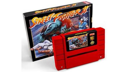 Capcom relanzará Street Fighter II en cartucho para Super Nintendo
