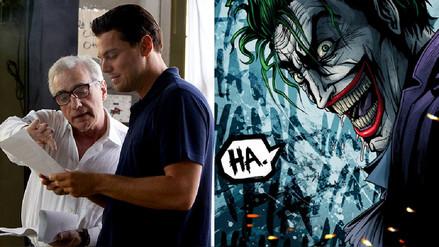 Leonardo DiCaprio sería el Joker de Martin Scorsese