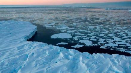 ¿Qué sucede cuando se calientan las aguas del Antártico solo 1 grado?
