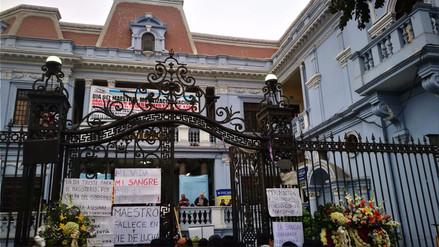 Un maestro de Áncash murió tras participar en marcha en Lima