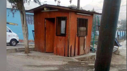 Chosica: Casetas de serenazgo lucen en mal estado