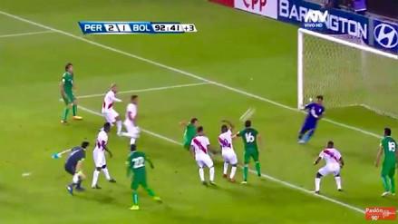 La jugada al último minuto que pudo cambiar la historia de Perú vs. Bolivia