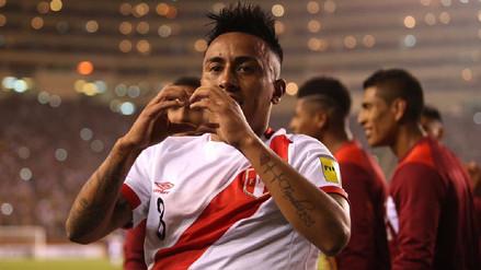 Christian Cueva marcó un brillante gol de larga distancia ante Bolivia