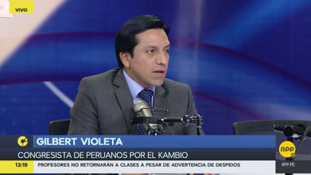 """Violeta: """"A Zavala le convendría dejar el Premierato"""""""