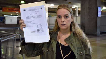 El régimen de Maduro prohibió la salida de Venezuela de Lilian Tintori