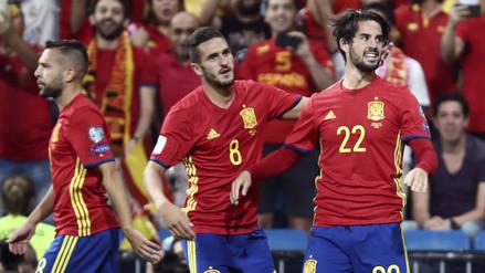 España liquidó a una débil Italia en el Santiago Bernabéu
