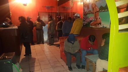 Realizan operativo en dos locales nocturnos de Juliaca