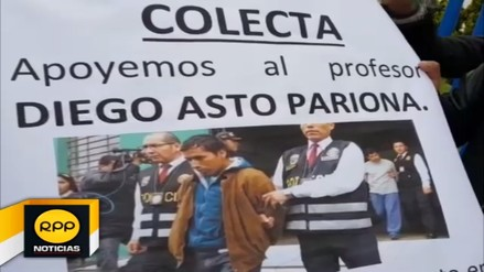 Docentes realizan colecta para apoyar a colega detenido en Lima