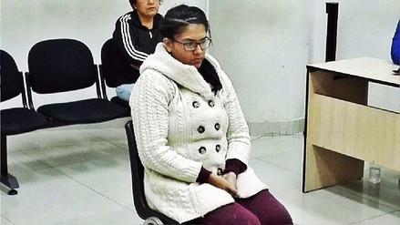 Poder Judicial dictó nueve meses de prisión preventiva contra Romina Calisaya