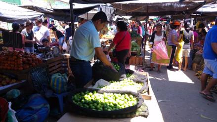 Desciende ligeramente el precio del limón en mercado de Piura