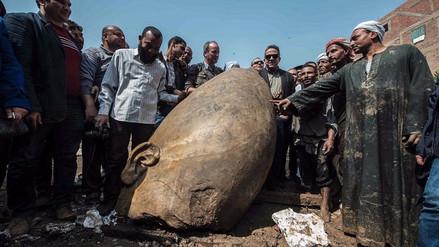 Estatua de faraón desconocido confirma pasaje bíblico sobre saqueo y destrucción