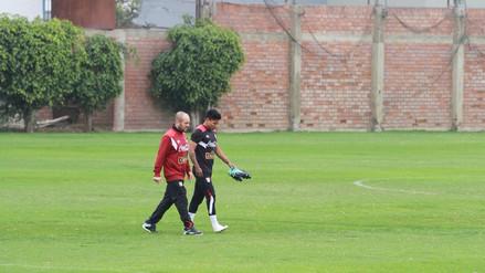 Raúl Ruidíaz salió lesionado del entrenamiento con la Selección Peruana
