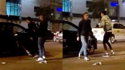 Conductor de taxi por aplicación fue asaltado en La Victoria