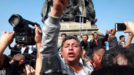 Reportera denunció que un miembro de la seguridad de Pedro Castillo le dio un puñete en el rostro