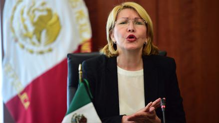La exfiscal venezolana Luisa Ortega entrega información a México