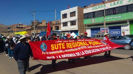 Profesores retornarán a las aulas este miércoles en Puno