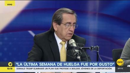 """Del Castillo: """"Hay un rumor de que Fuerza Popular ofreció la cabeza de la ministra"""""""