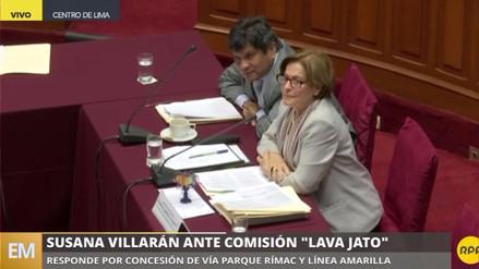"""Villarán: """"No he recibido coimas para favorecer proyectos públicos"""""""