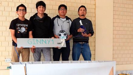 Estudiantes de la UNI construyeron un dron marino que competirá en Francia