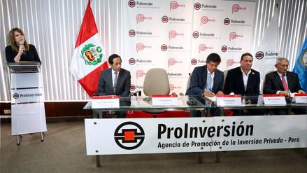 Gobierno firmó su primer contrato APP luego de un año de administración