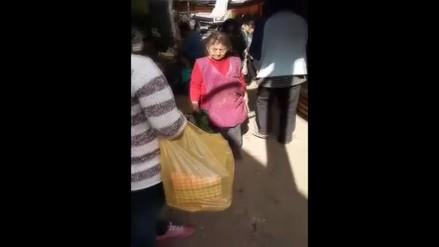 Chosica: reportan hacinamiento por ambulantes en mercado