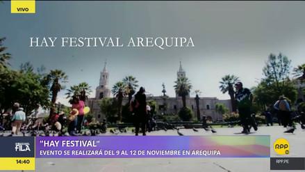 Hay Festival: este noviembre en Arequipa y también en Cusco